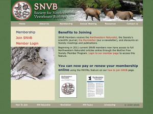 The Society for Northwest Vertabrate Biologists